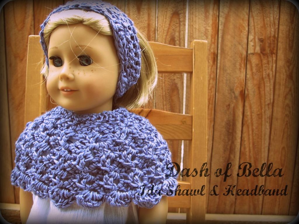 Crochet Pattern Central American Girl : createbellacreate: American Girl Head warmer/ Ear Warmer ...