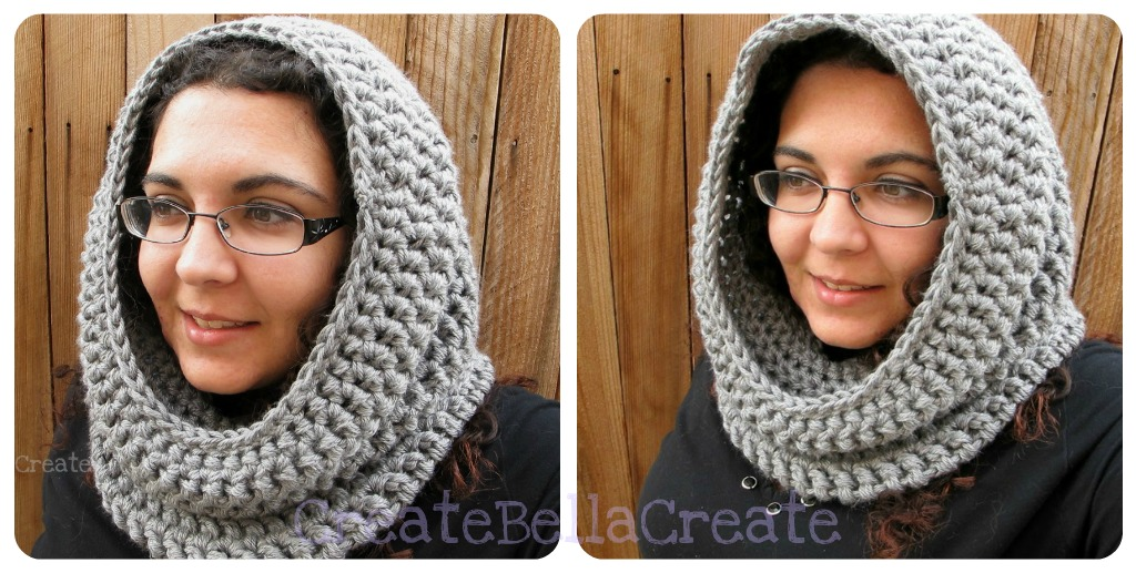 Free Crochet Convertible Cowl Pattern : createbellacreate: Bellas Version of the Convertible Cowl